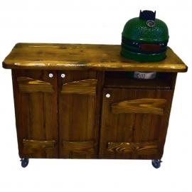Деревянный стол для гриля