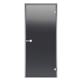 Дверь с алюминиевой коробкой Harvia ALU 7x19, стекло серое