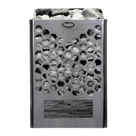 Печь-каменка электрическая для бани и сауны Helo Hanko 80 STJ Хром