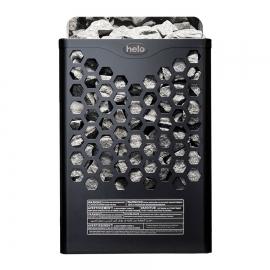 Печь-каменка электрическая для бани и сауны Helo Hanko 60 STJ Черный