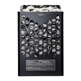 Печь-каменка электрическая для бани и сауны Helo Hanko 80 STJ Черный