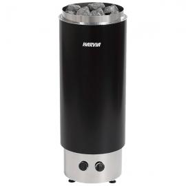 Печь-каменка электрическая для бани и сауны Harvia Cilindro PС70F Black