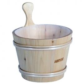 Шайка деревянная Harvia 7 л, емкость из пластмассы