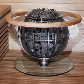 Защита полка Harvia HGL8 Globe
