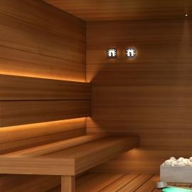 Комплект освещения Cariitti Sauna Linear Led 2M 1516661