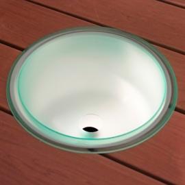 Оптоволоконный светильник для сауны Cariitti Шайка IB320 с водосливным отверстием 1545804