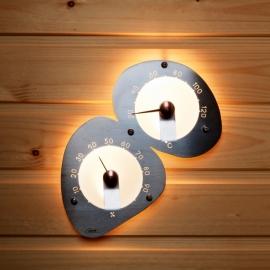 Оптоволоконный светильник для сауны Cariitti Термометр-гигрометр 1545822