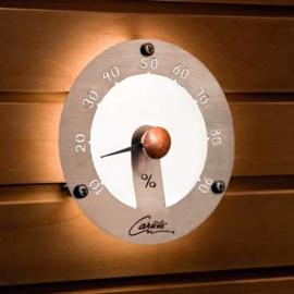 Оптоволоконный светильник для сауны Cariitti Гигрометр 1545820