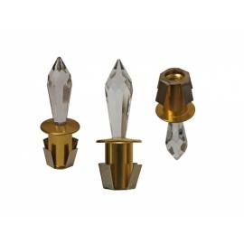 Хрустальная насадка Cariitti CR43 золото 1540065