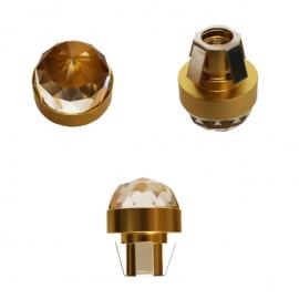 Хрустальная насадка Cariitti CR20 золото 1540071