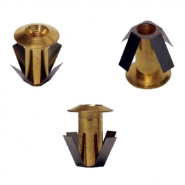 Монтажная втулка Cariitti CR01 золото 1540048