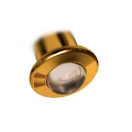 Светильник для паровой бани Cariitti CR05 Led золото прозрачная линза 1545219