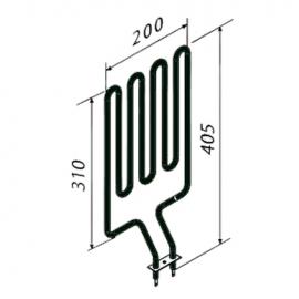 ТЭН Harvia ZSN-160 1800 Вт/230 В