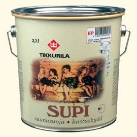 Антисептик для защиты бани и сауны, Супи Саунасуоя 2,7л