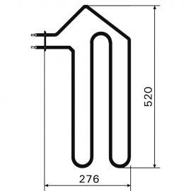 ТЭН Harvia ZSF-20 1333 Вт/230 В