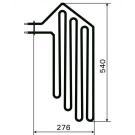ТЭН Harvia ZSF-30 2000 Вт/230 В