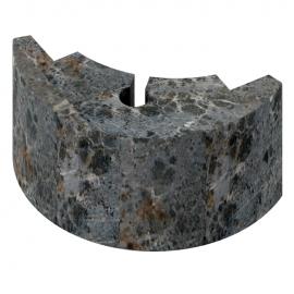 Угловой талькохлоритный элемент 2 (110х50х60 мм) для печи SAWO NIMBUS, HP23-008