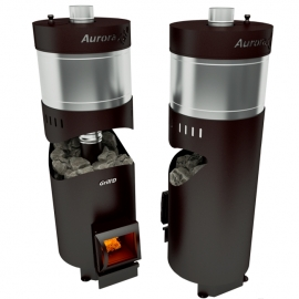 Дровяная печь-каменка Grill'D Aurora 160 TRIO Short