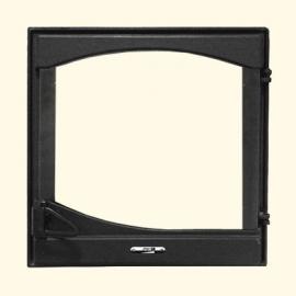 Каминная дверца HTT 401 (черная) Pisla