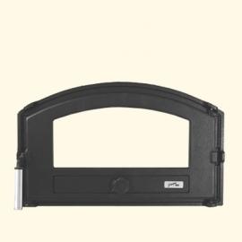 Дверца хлебной печи HTT 432 (черная) Pisla