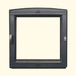 Каминная дверца HTT 501 (черная) Pisla