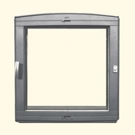 Каминная дверца HTT 501 (серая) Pisla