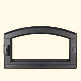 Дверца хлебной печи HTT 531 (черная) Pisla
