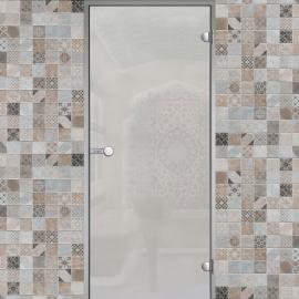 Дверь с алюминиевой коробкой HARVIA ALU 8x21