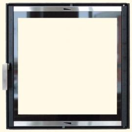 Каминная дверца HTT 601 (черная) Pisla