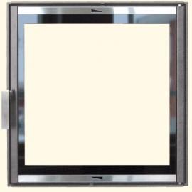Каминная дверца HTT 601 (серая) Pisla