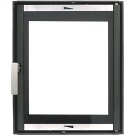 Каминная дверца HTT 626 (черная) Pisla