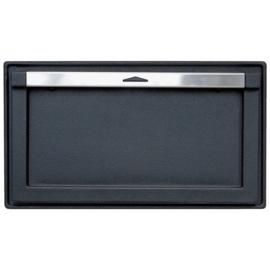 Зольная дверца HTT 612 (черная) Pisla