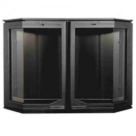 Каминная дверца HTT 520 (черная) Pisla