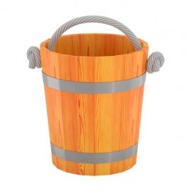 Ведро для бани 15 л d-0,31 h-0,30, лиственница натуральная. BentWood