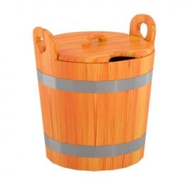 Запарник для бани (с крышкой) 22 л d-0,37 h-0,40, лиственница натуральная. BentWood