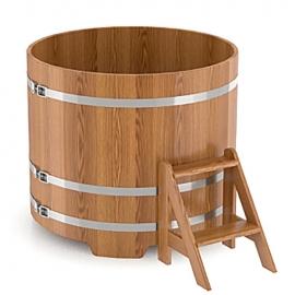 Купель круглая дуб натуральный d-1,80 h-1,0. BentWood