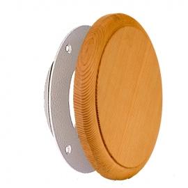 Вентиляционный клапан для сауны канадский кедр, D 100.