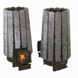 Дровяная печь-каменка Grill'D Cometa Vega 180 long Stone
