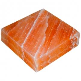 Розовая гималайская соль, плитка гладкая. 100х100х25 мм. Пакистан