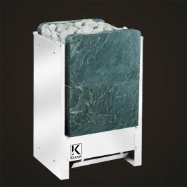 Печь-каменка электрическая для сауны KARINA Люкс 14, талькохлорит вертикальный