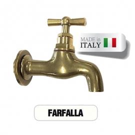 Кран для хамама Morelli Farfalla, латунь. Италия