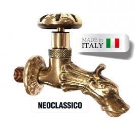 Кран для хамама Morelli Neoclassico, латунь. Италия