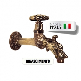 Кран для хамама Morelli Rinascimento, латунь. Италия
