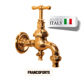 Кран для хамама Morelli Francoforte, латунь. Италия