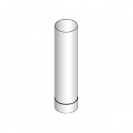 Труба дымовая HARVIA 0,5м (нерж.)