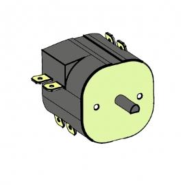 Таймер 9+3 час 4-полюсной для Compact 2/4 (2652)