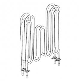 ТЭН 24,7 Ом для Compact 2/4 (2шт,) TYLO