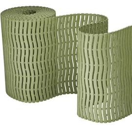 """Коврик для саун и влажных помещений """"Soft Step"""" PLAST-TURF, тростниковая зелень"""
