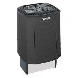 Печь-каменка электрическая для бани и сауны Harvia Sound M80E Black