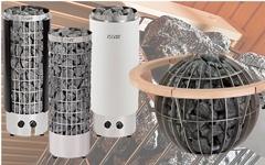 Электрические печи-каменки для сауны и бани HARVIA